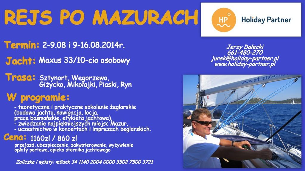Mazury 2014 plakat